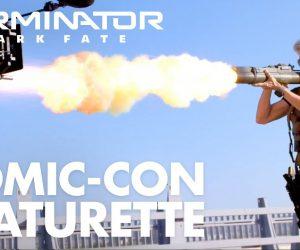 Джеймс Кэмерон хвалит «Терминатора: Тёмные судьбы» в фичуретке с Comic-Con 1