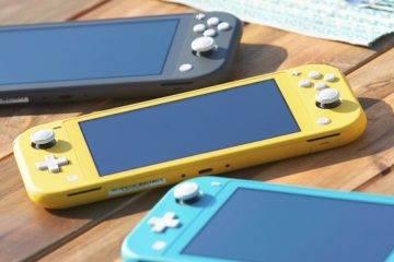 Nintendo анонсировала новую консоль Switch Lite 1