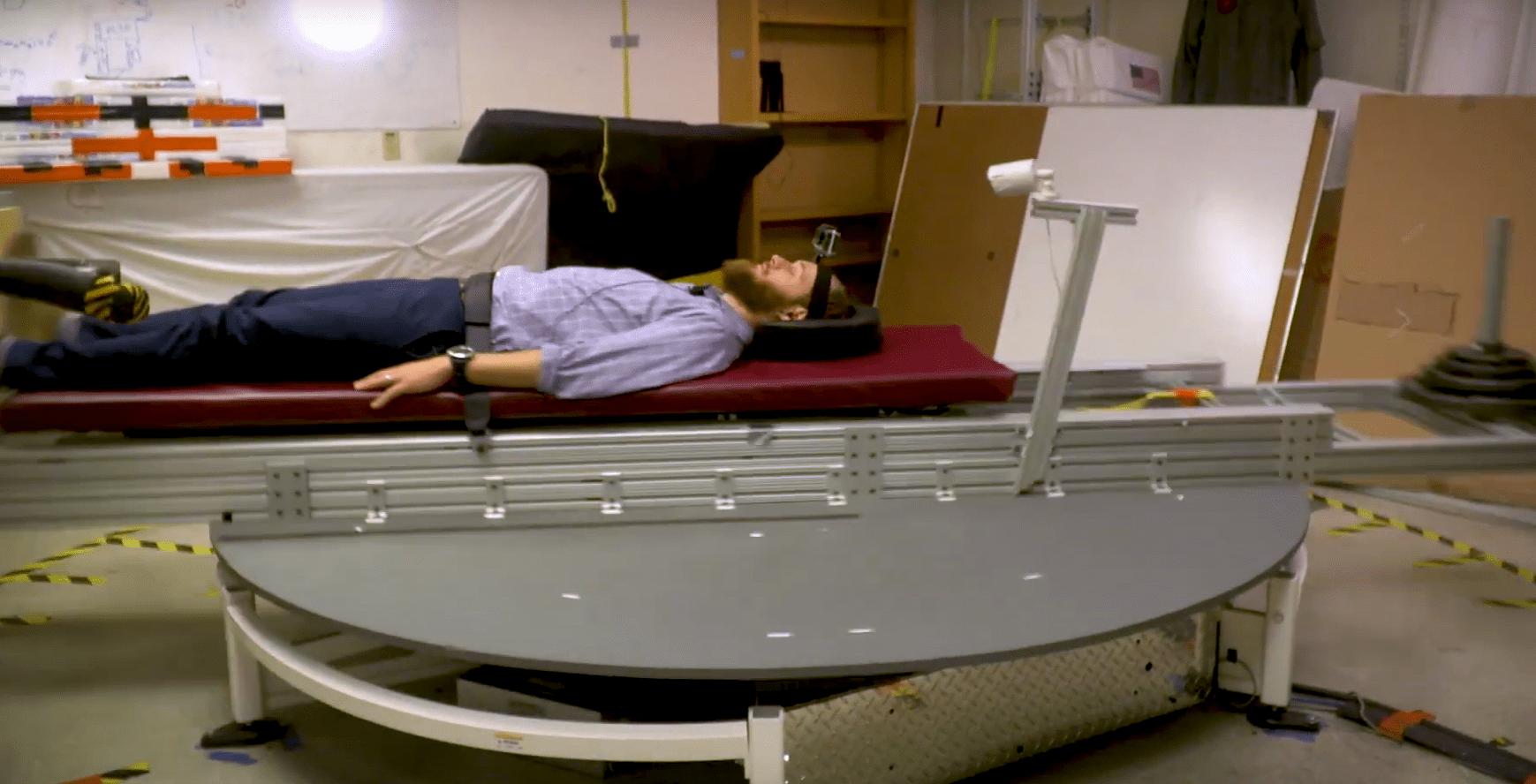 Исследователи разработали тренажёр искусственной гравитации для космических станций