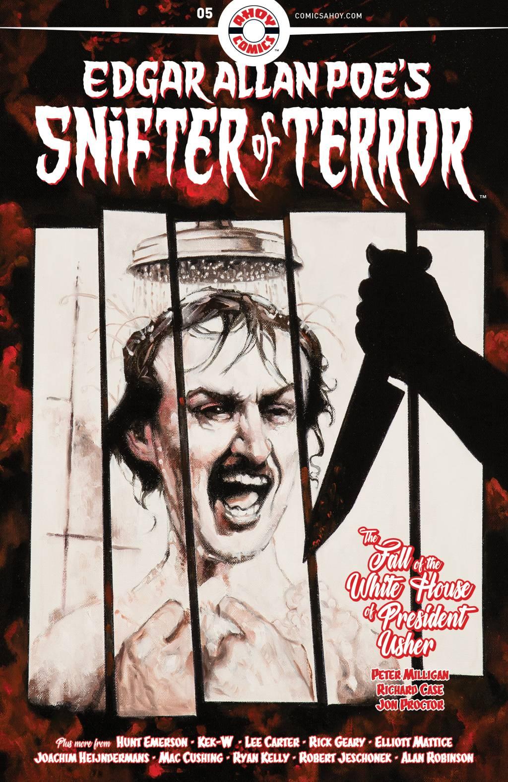 Про Эдгара Аллана По рисуют очень странные комиксы из серии Snifter Of Terror. Вот их обложки 4