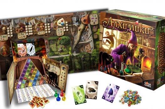Алхимики. Настольная игра
