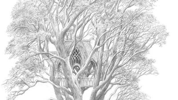 Что почитать: «Берен и Лутиэн» с иллюстрациями Алана Ли и 2