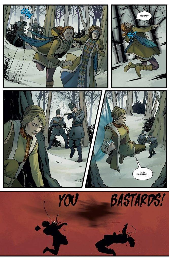 Amazon и Legendary Comics выпустили комиксы-приквелы к «Карнивал Роу» 6