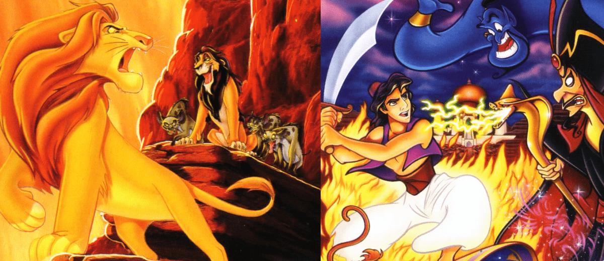 В октябре выйдет переиздание классических игр «Король Лев» и «Аладдин»