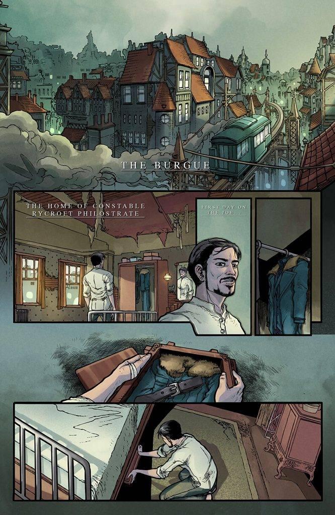 Amazon и Legendary Comics выпустили комиксы-приквелы к «Карнивал Роу» 4
