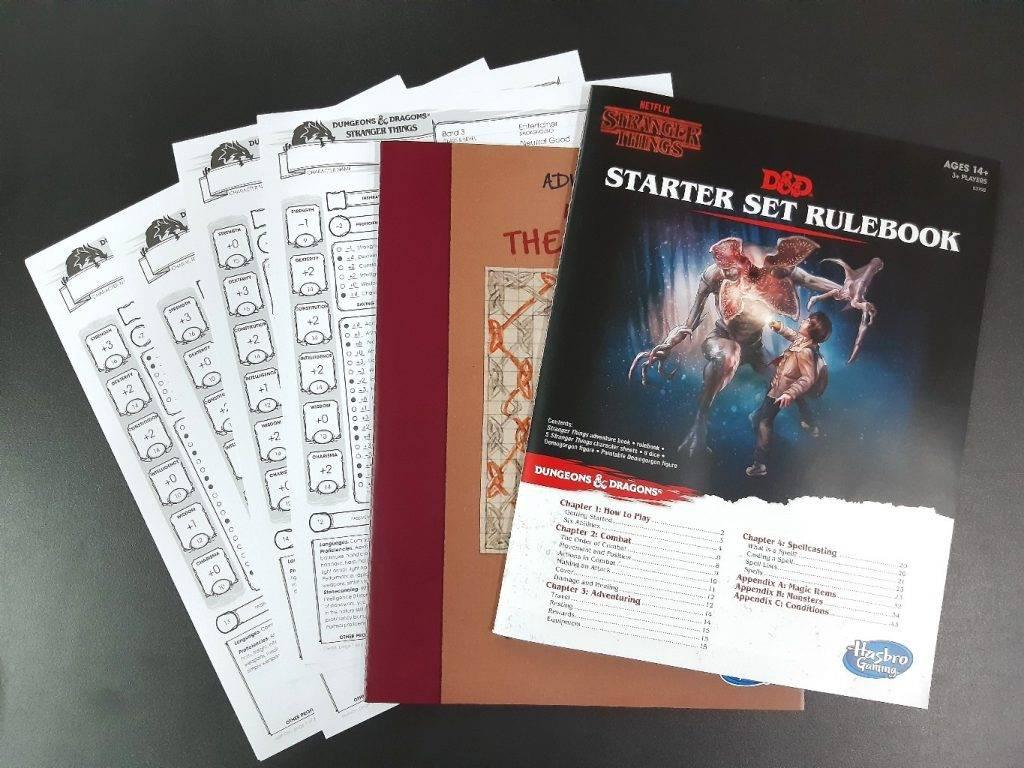 Игра в игре: каким вышел стартовый набор D&D по Stranger Things 2