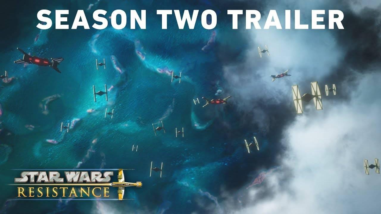 Первый трейлер второго сезона мультсериала «Звёздные войны: Сопротивление»