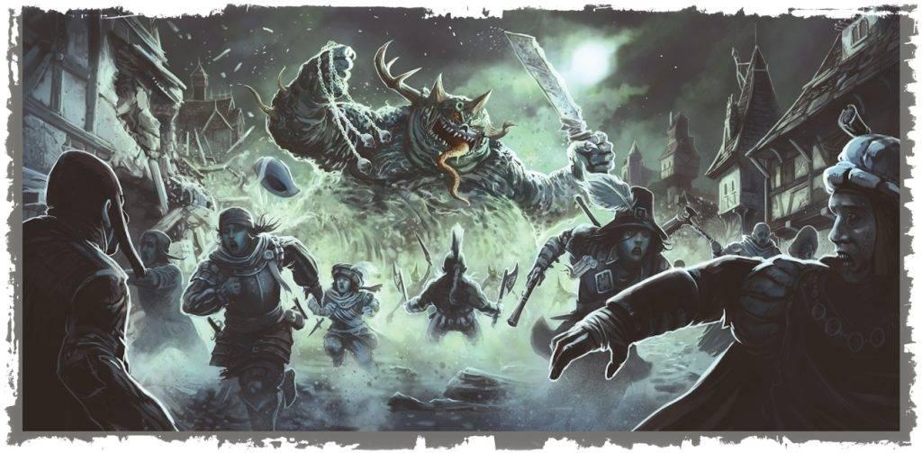 Кровь и хаос: обзор Warhammer Fantasy Roleplay 4ed 3