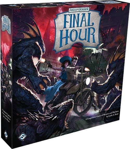 FFG представила Final Hour —ещё одну кооперативную настолку в серии Arkham Files