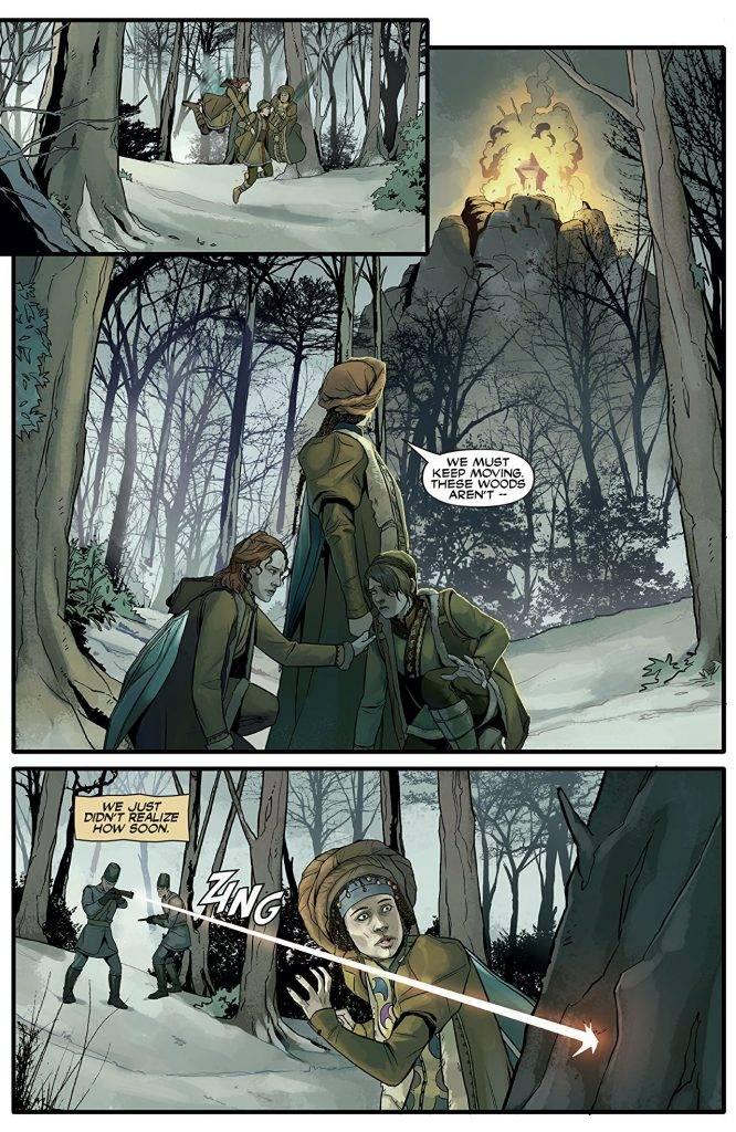 Amazon и Legendary Comics выпустили комиксы-приквелы к «Карнивал Роу» 7