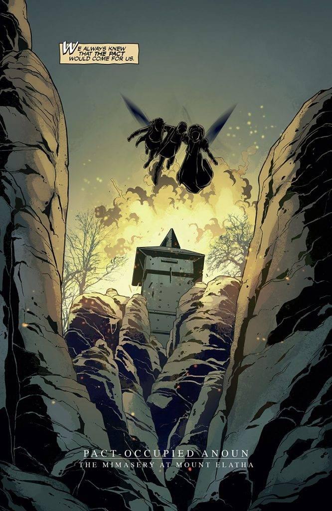 Amazon и Legendary Comics выпустили комиксы-приквелы к «Карнивал Роу» 8
