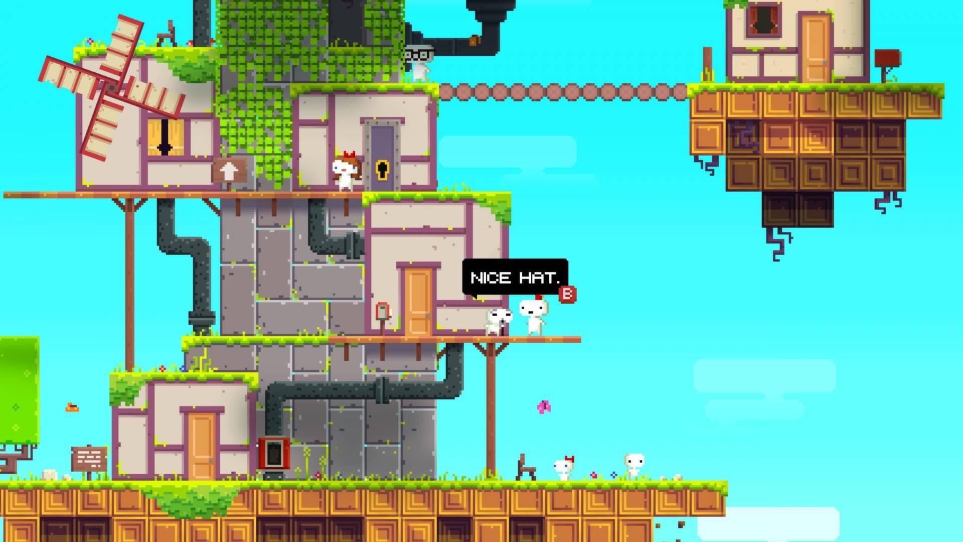 Раздача: пиксельный платформер Fez в Epic Games Store