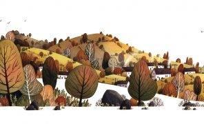 Арт: Волшебная природа от художницы Иры Слайтерман фон Лангевейде