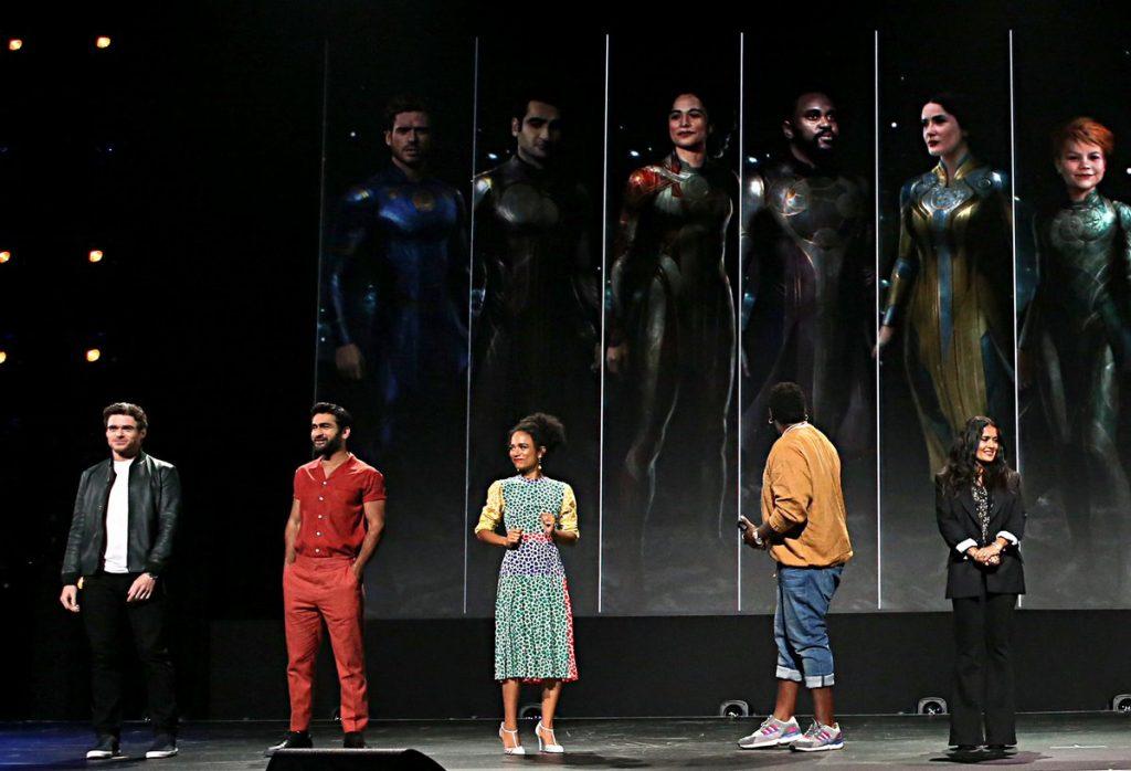 Презентация Marvel: «Локи», «Чёрная вдова» и другие фильмы и сериалы 10