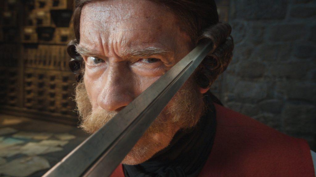 «Тайна печати дракона»: Арнольд Шварценеггер избивает Джеки Чана! 1