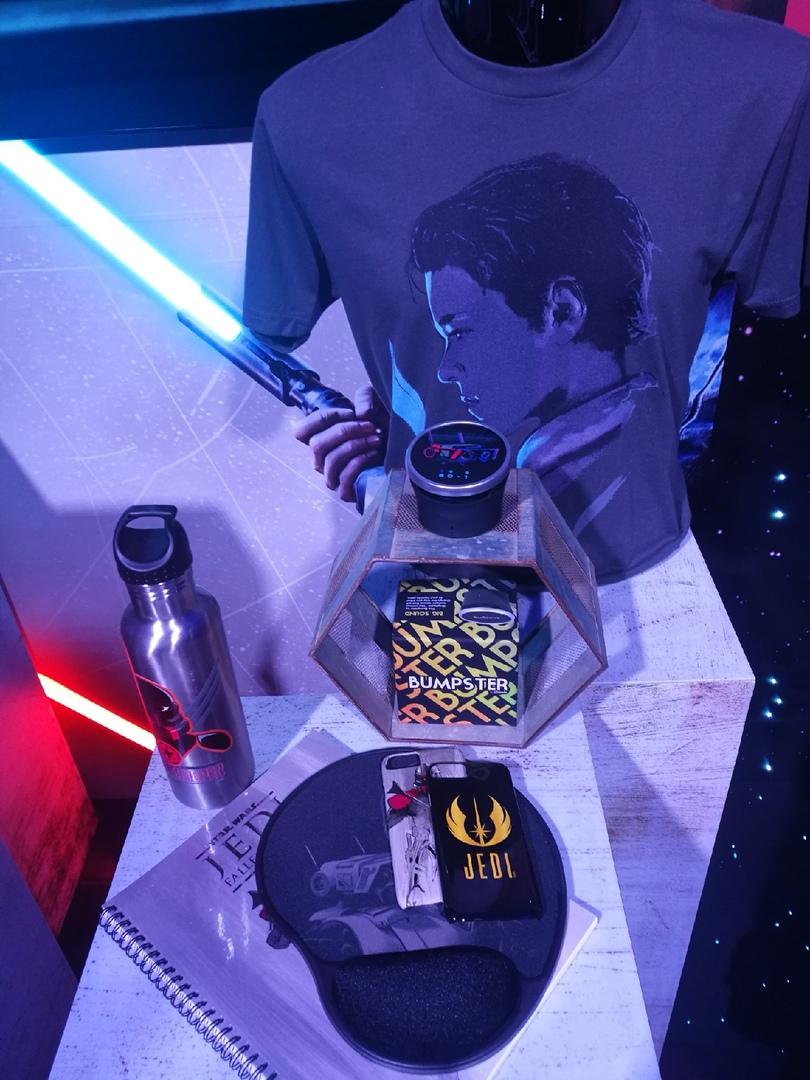 Новый геймплейный трейлер Star Wars Jedi: Fallen Order и фотографии мерча с Triple Force Friday 5