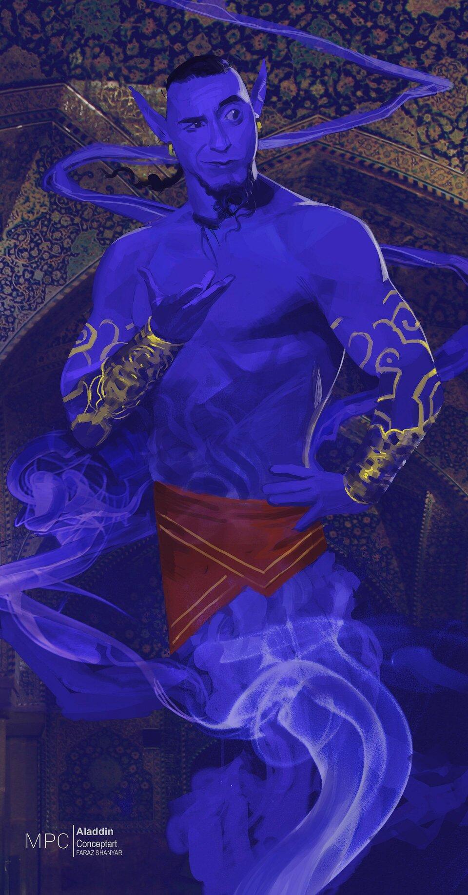 Арт: концепты к «Аладдину» Гая Ричи 5