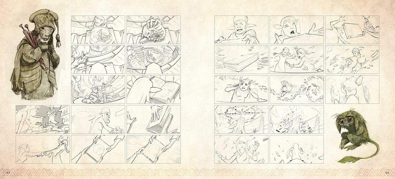 Арт: иллюстрации из артбука по сериалу «Тёмный кристалл» 3