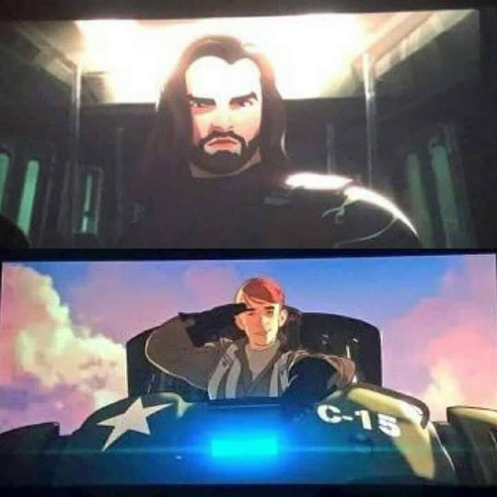 Утечка: кадры из мультсериала Marvel «Что, если?» 1