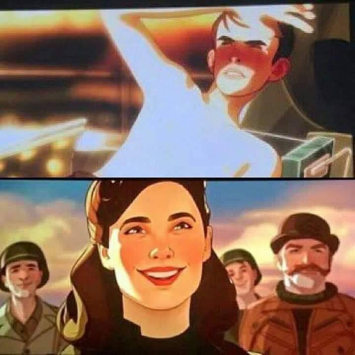 Утечка: кадры из мультсериала Marvel «Что, если?» 2