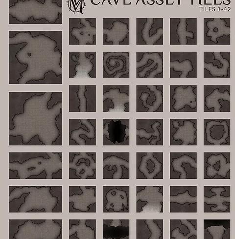 Находка: бесплатная подборка шаблонов для создания фэнтези-карт 1