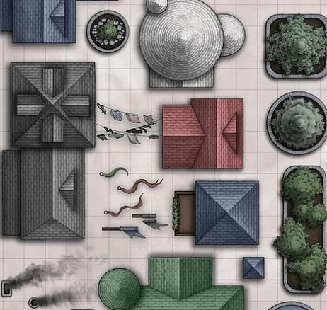 Находка: бесплатная подборка шаблонов для создания фэнтези-карт 2