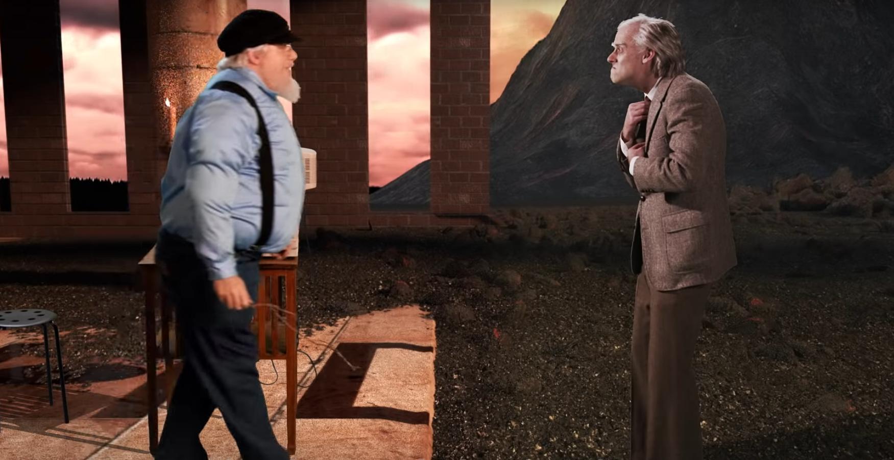 Джордж Мартин признался в люби к «Властелину колец», но раскритиковал книгу за отдельные недочёты