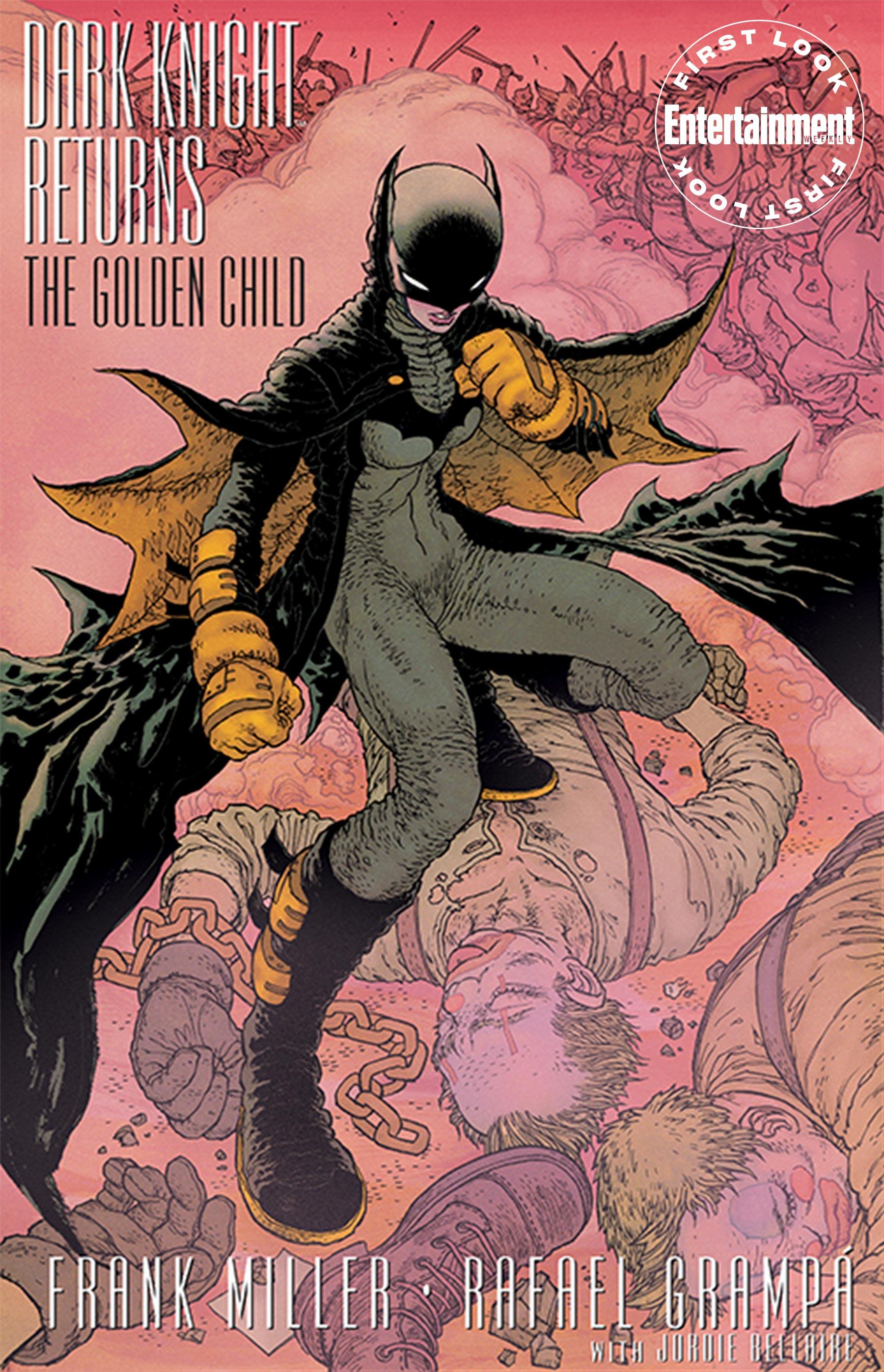 DC показала первые страницы из комикса The Golden Child —продолжения серии The Dark Knight Returns Фрэнка Миллера 1