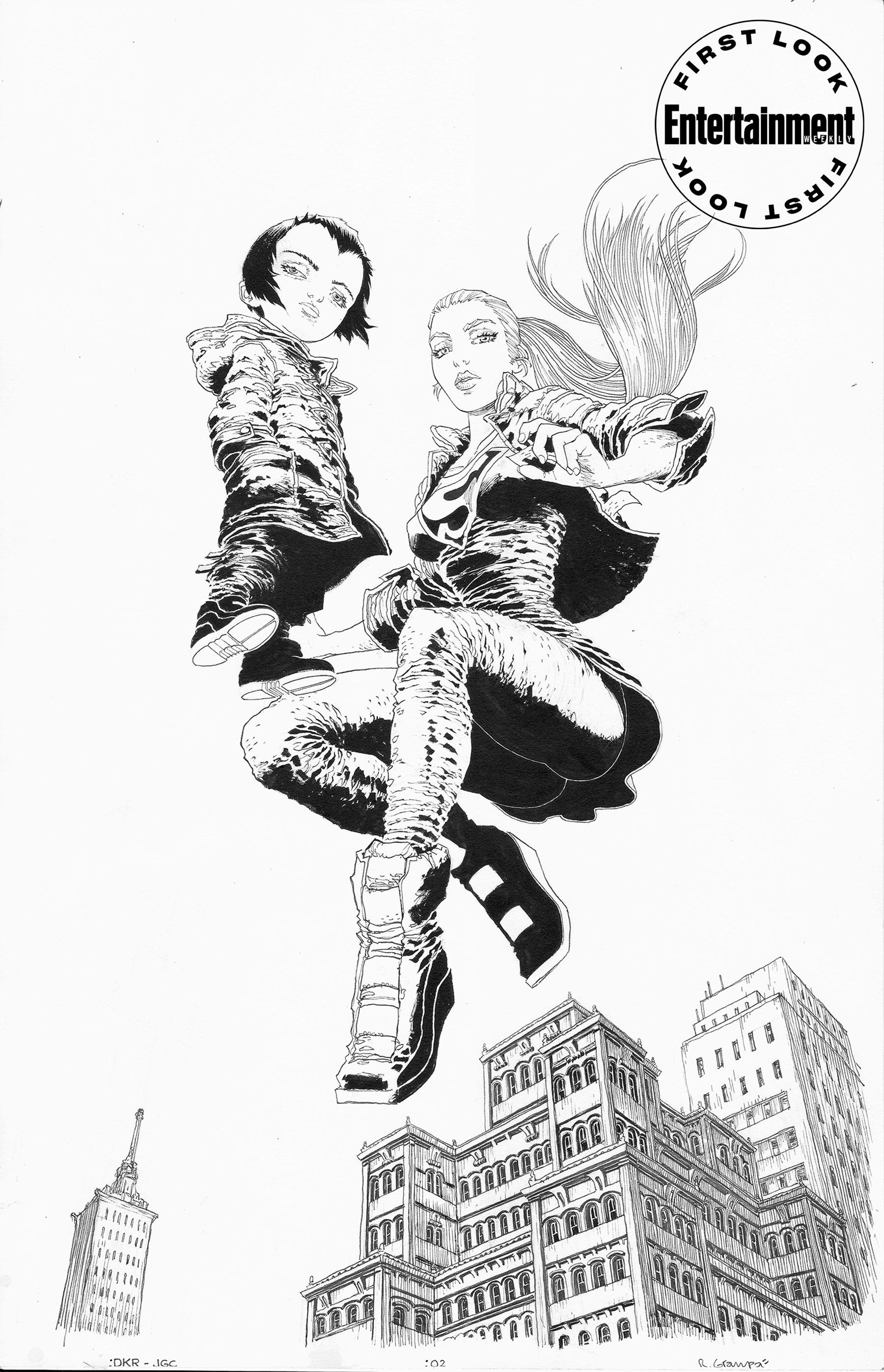 DC показала первые страницы из комикса The Golden Child —продолжения серии The Dark Knight Returns Фрэнка Миллера 4