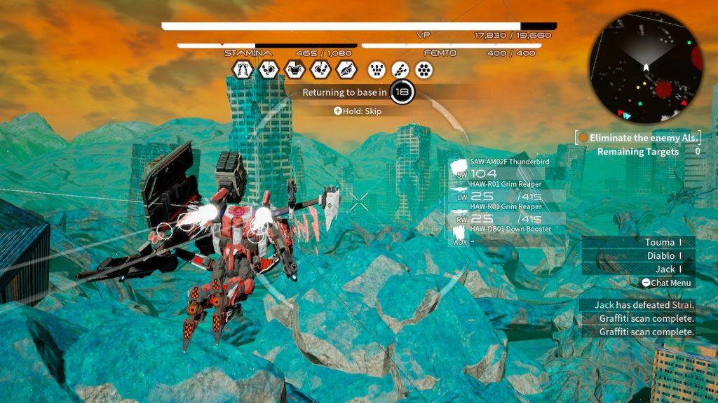 Обзор Daemon XMachina. Портативный меха-симулятор 3