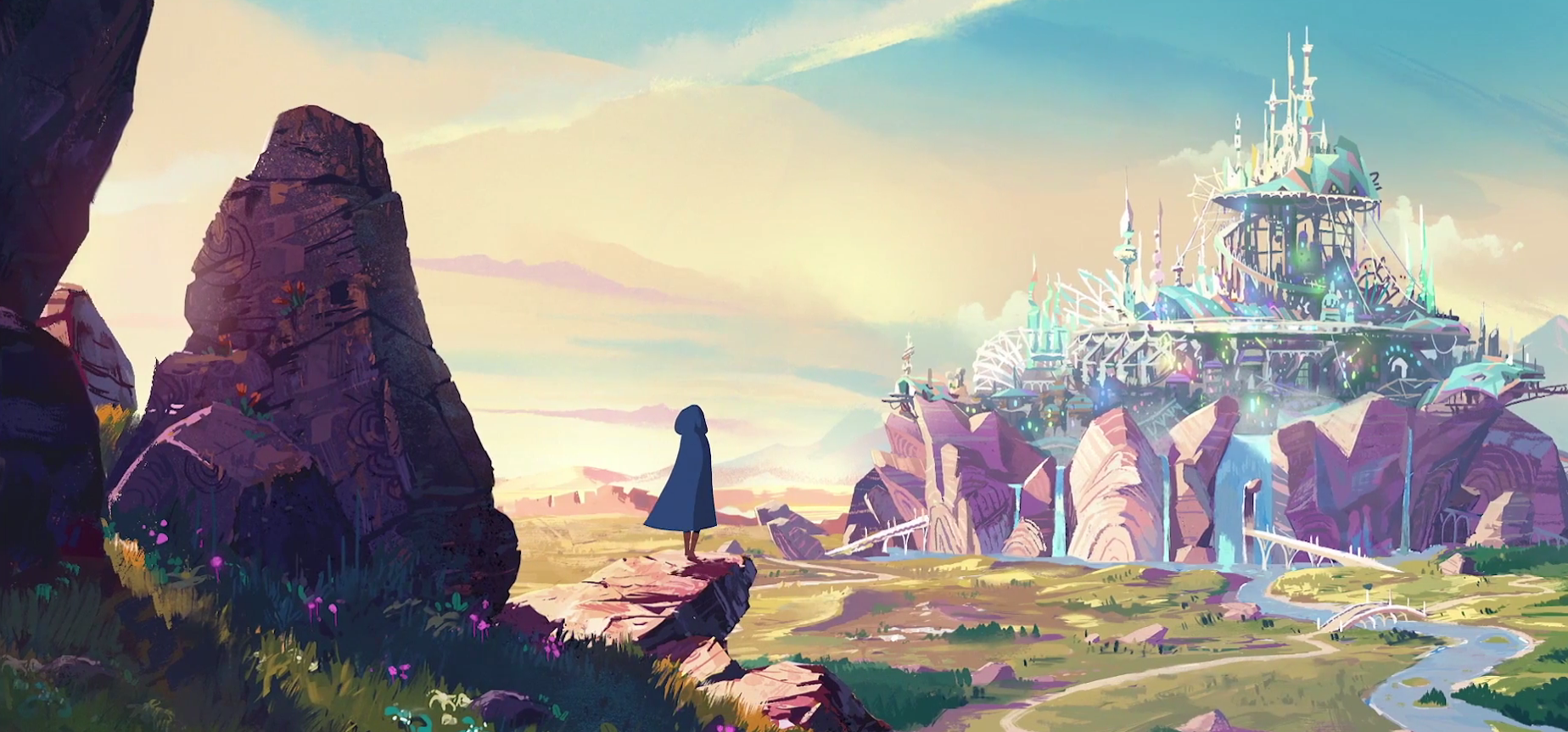 Трейлер Ewilan's Quest — французского мультсериала по мотивам фэнтезийного цикла