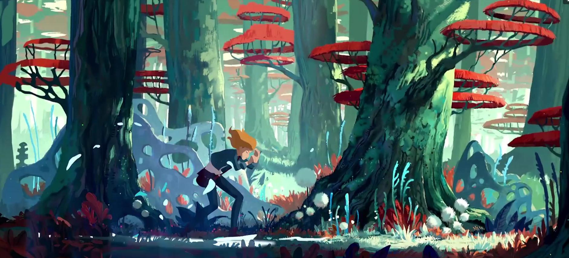 Трейлер Ewilan's Quest — французского мультсериала по мотивам фэнтезийного цикла 4