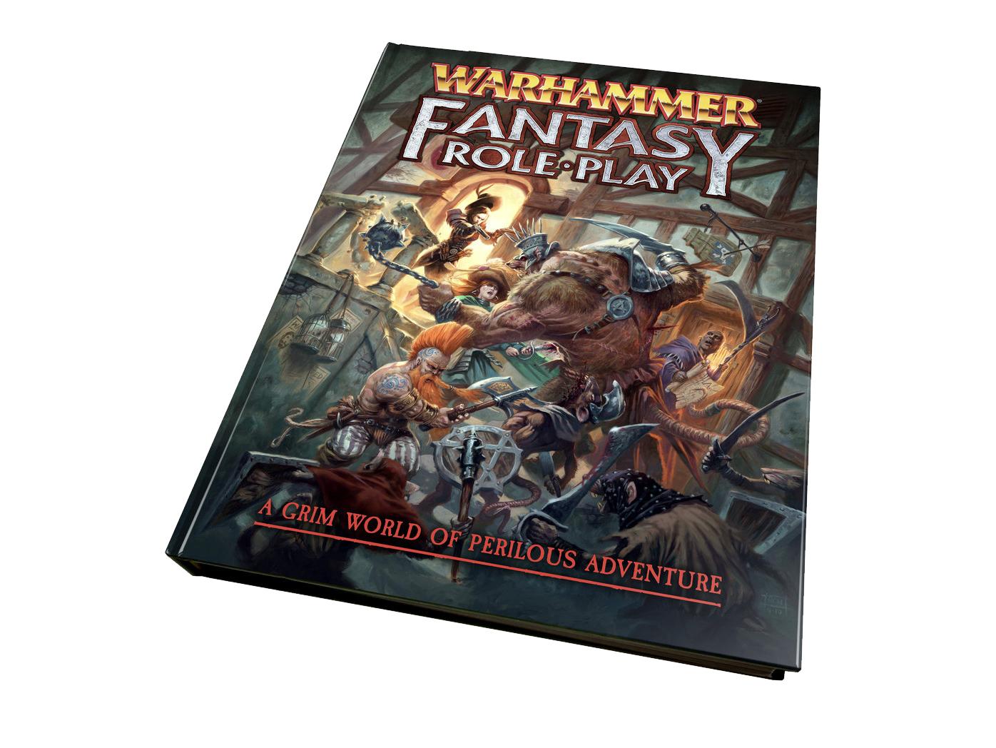 «Студия 101» открыла предзаказ на издание русской версии Warhammer Fantasy RolePlay 4 2