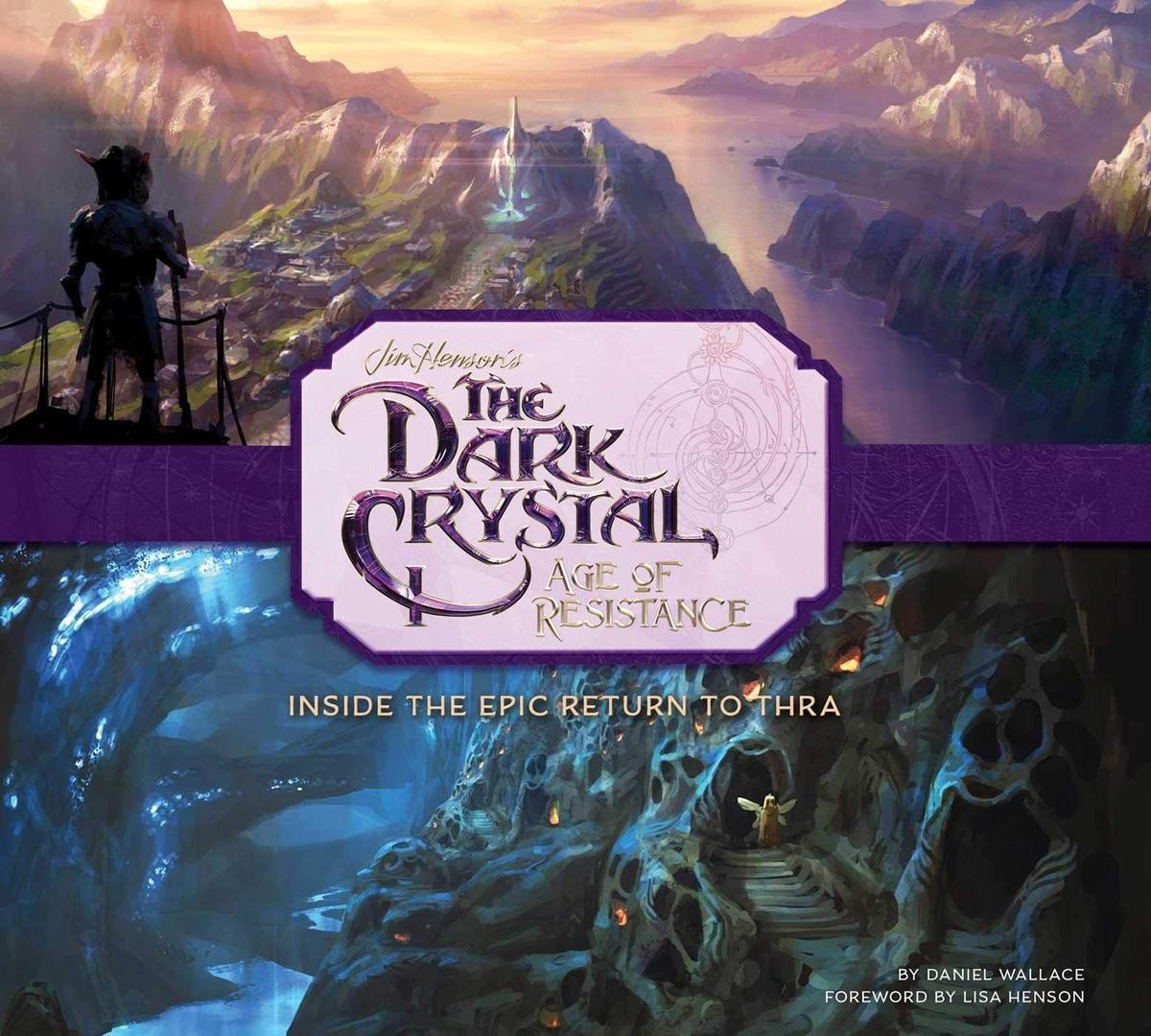 Арт: иллюстрации из артбука по сериалу «Тёмный кристалл» 1
