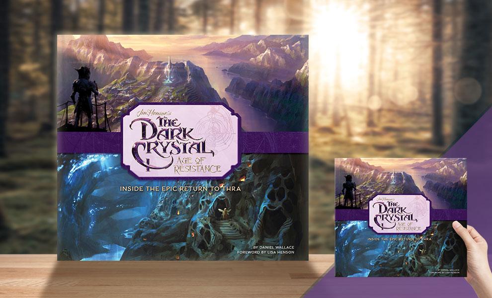 Арт: иллюстрации из артбука по сериалу «Тёмный кристалл»