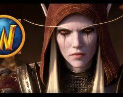 Короткометражка: кинематографический ролик World of Warcraft «Сильвана и Саурфанг»