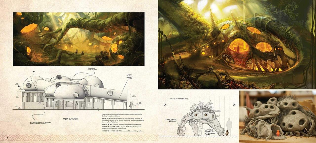 Арт: иллюстрации из артбука по сериалу «Тёмный кристалл» 2