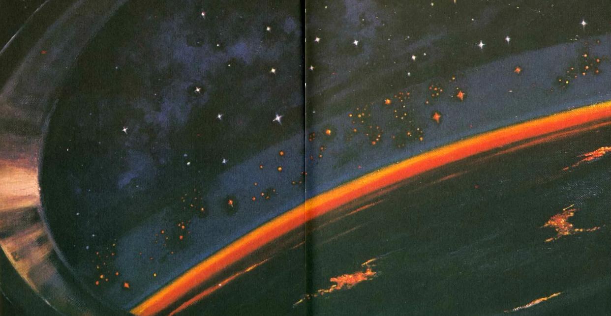 Фантастика и реальность в картинах Алексея Леонова —первого человека в открытом космосе 2