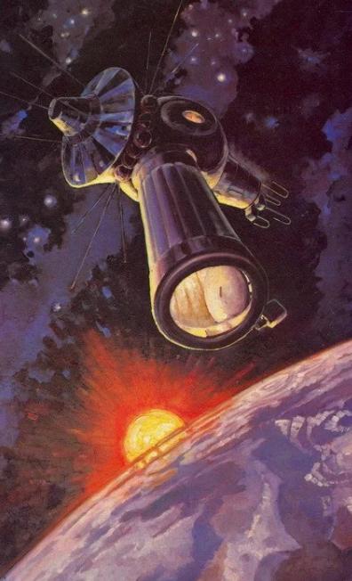 Фантастика и реальность в картинах Алексея Леонова —первого человека в открытом космосе 3