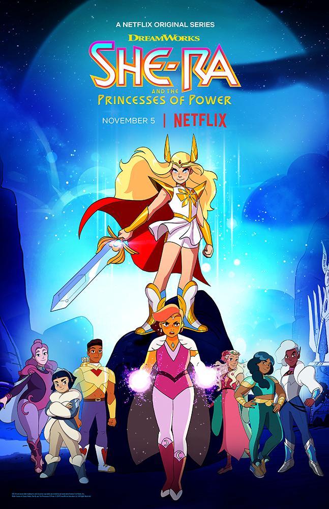 Тизер и постеры четвёртого сезона мультсериала «Ши-Ра и Непобедимые принцессы»