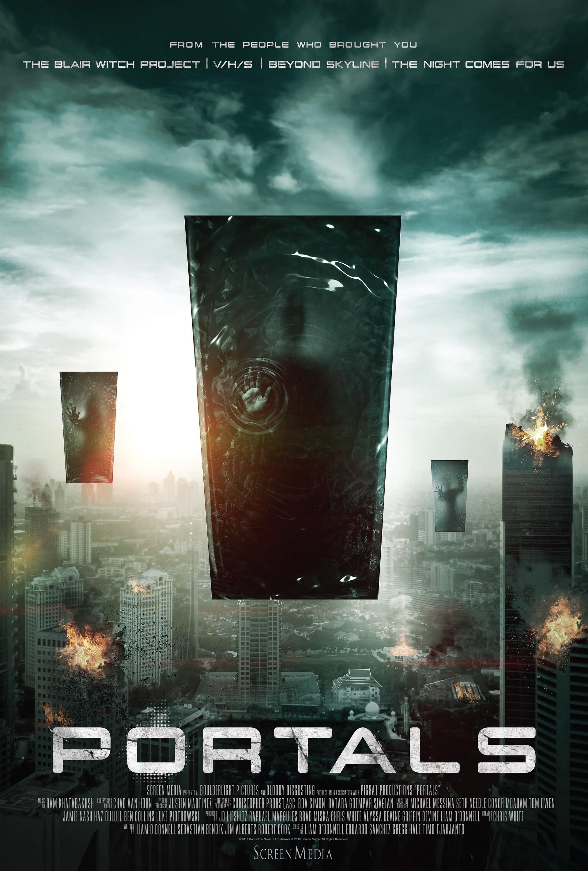 Трейлер фантастического триллера Portals — антологии от создателей «Ведьмы из Блэр» и «Скайлайна 2»