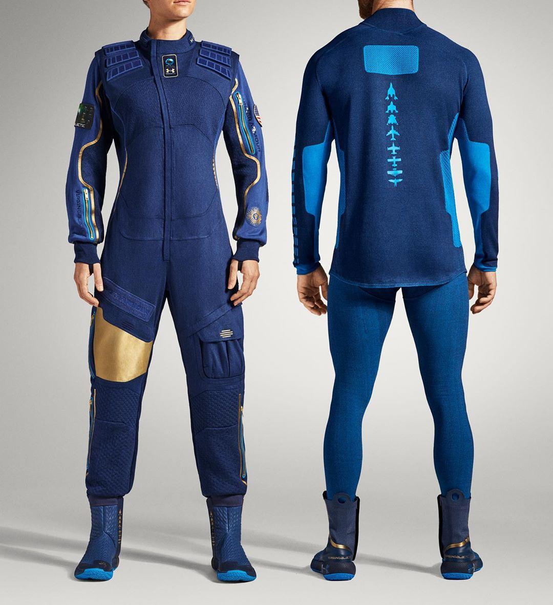 Компания Virgin Galactic представила костюм для первых космических туристов