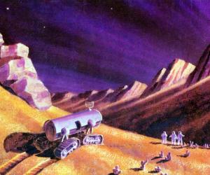 Фантастика и реальность в картинах Алексея Леонова —первого человека в открытом космосе 5