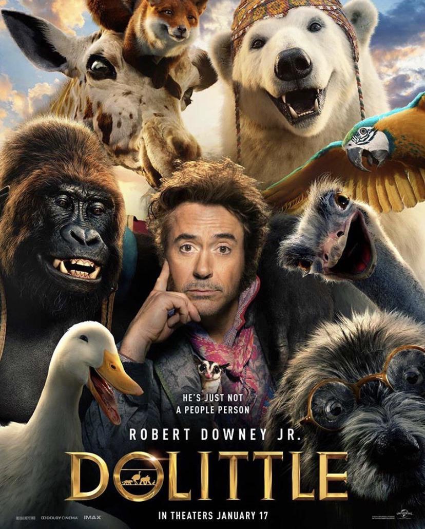 Первый трейлер «Дулиттла» — доброго доктора Роберта Дауни-младшего