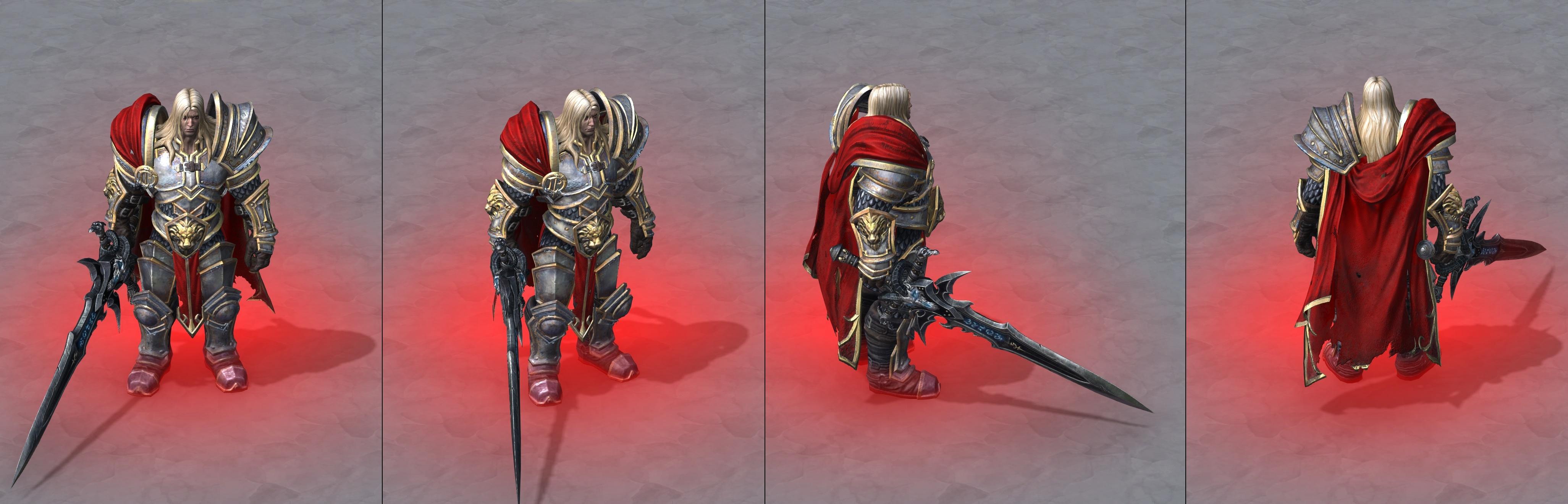 Утечка: озвучка и модели Сильваны, Артаса, Джайны и других персонажей Wacraft III: Reforged 10