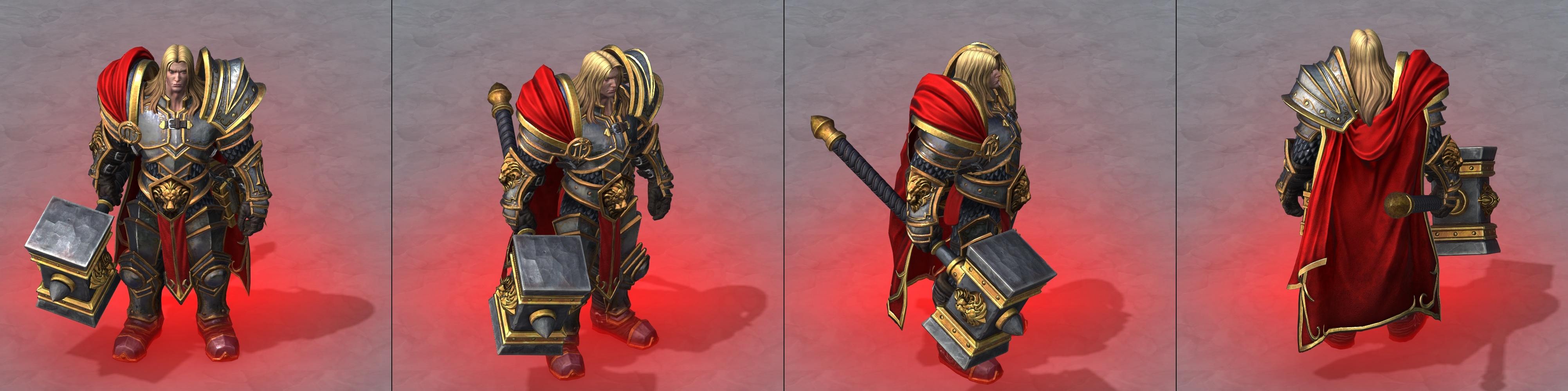 Утечка: озвучка и модели Сильваны, Артаса, Джайны и других персонажей Wacraft III: Reforged 11