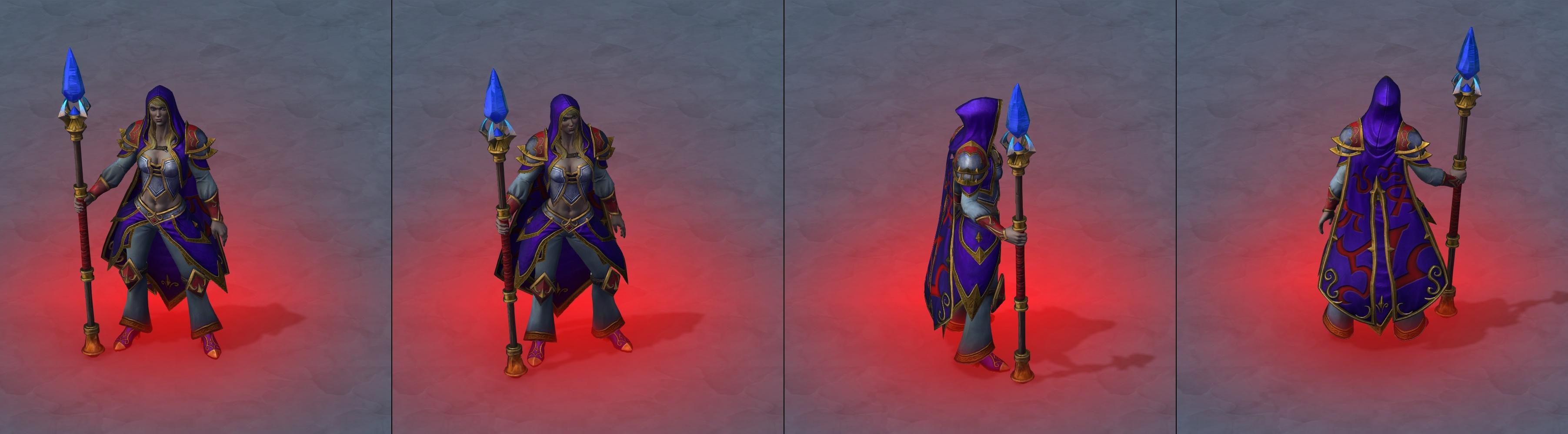 Утечка: озвучка и модели Сильваны, Артаса, Джайны и других персонажей Wacraft III: Reforged 15