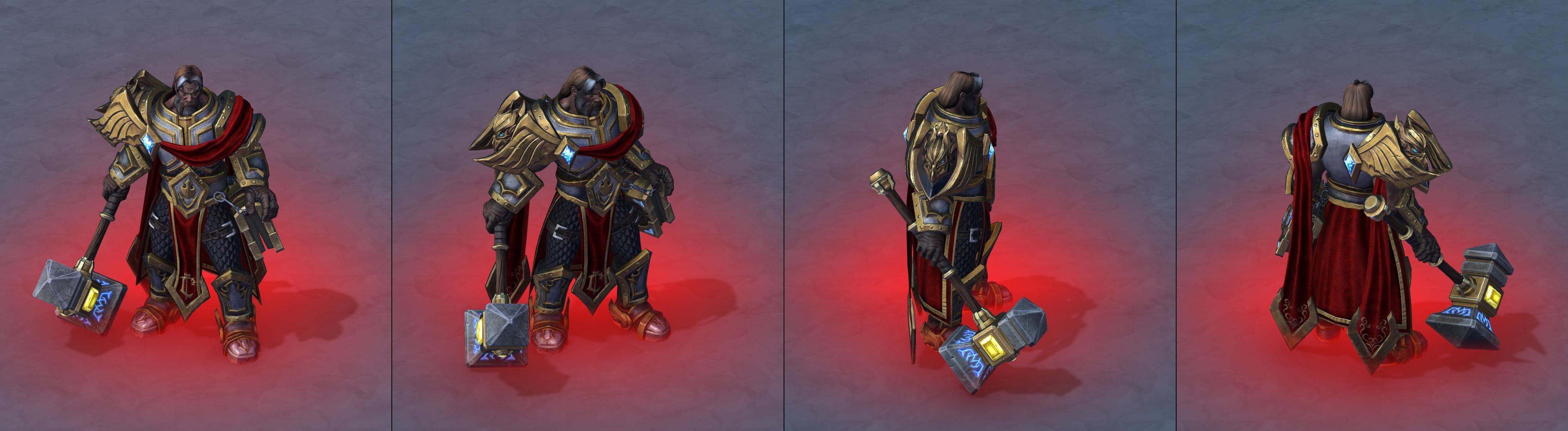Утечка: озвучка и модели Сильваны, Артаса, Джайны и других персонажей Wacraft III: Reforged 19