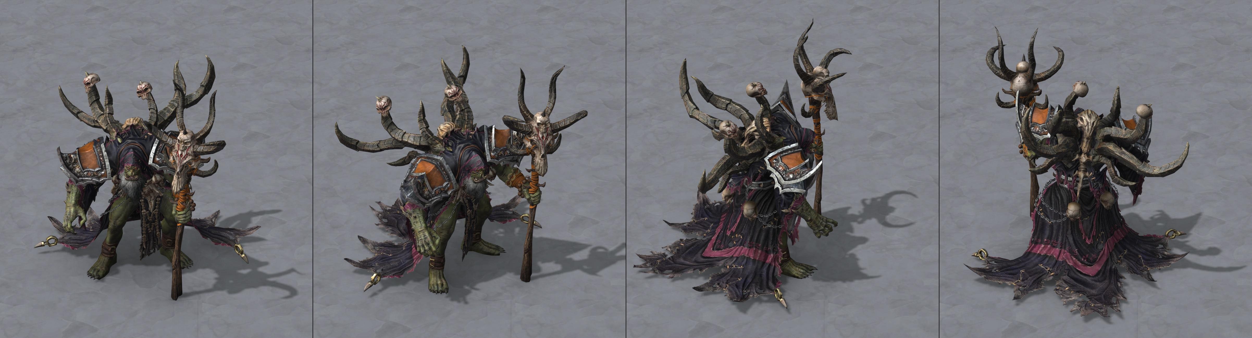 Утечка: озвучка и модели Сильваны, Артаса, Джайны и других персонажей Wacraft III: Reforged 4