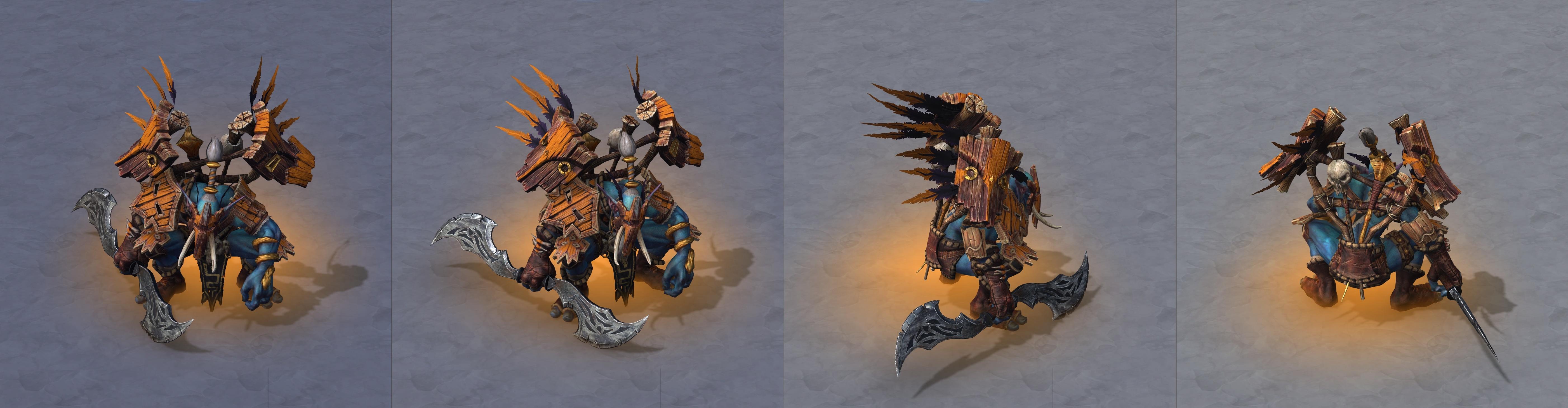 Утечка: озвучка и модели Сильваны, Артаса, Джайны и других персонажей Wacraft III: Reforged 6